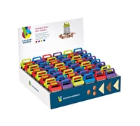 Colourworks Display of 48 7cm Stainless Steel Mini Graters
