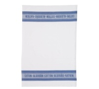 KitchenCraft Jacquard Navy Set of 2 Tea Towels