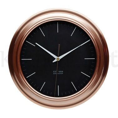 Kitchen Craft Copper Effect Clock