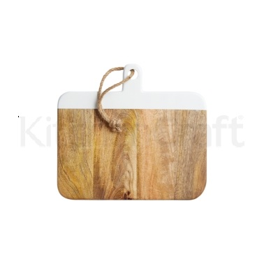 MasterClass Gourmet Prep & Serve Painted Mango Serving Board