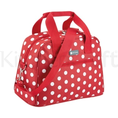Coolmovers 11.5 Litre Red Polka Holdall Style Cool Bag