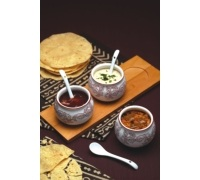 KitchenCraft Indian Chutney Serving Set