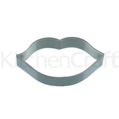 KitchenCraft 12cm Lips Shaped Cookie Cutter