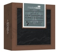 MasterClass Appetiser Slate Coasters