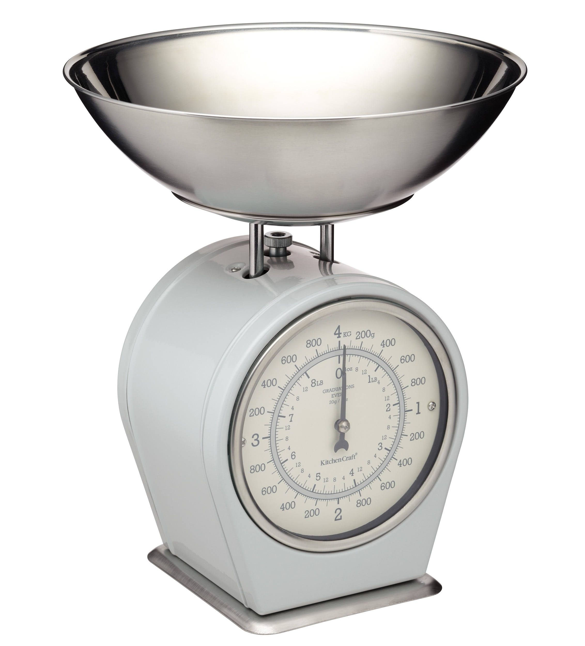 Living nostalgia french grey mechanical scales kitchen for Kitchen scale for baking