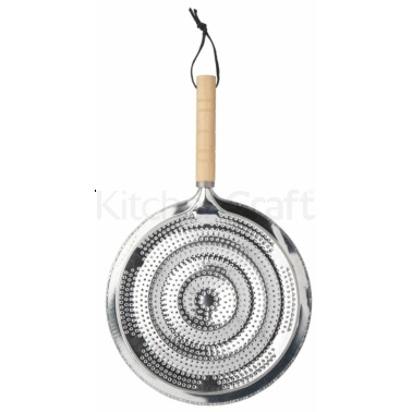 KitchenCraft 21cm Simmer Ring With Wooden Handle