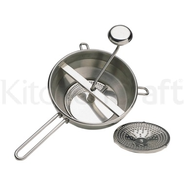 Master Class Stainless Steel 20cm Rotary Food Mill