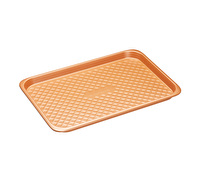 MasterClass Smart Ceramic 40 x 27 cm Heavy-Duty Stackable Big Baking Tray