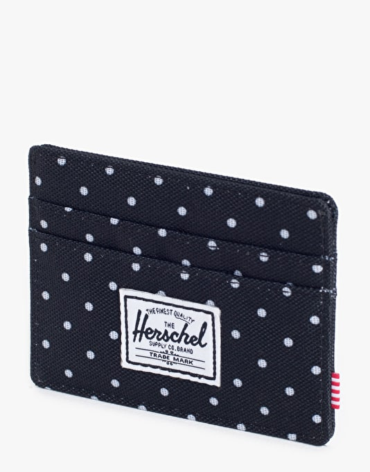 Herschel Supply Co. Charlie Card Holder - Polka Dot