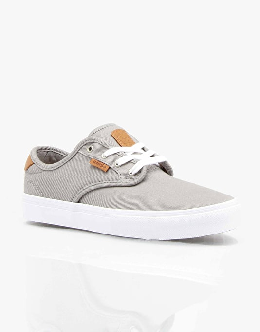 Vans Chima Ferguson Pro Boys Skate Shoes - Grey/White