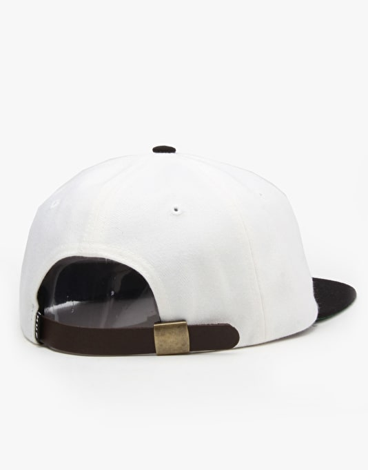 HUF x Spitfire 6 Panel Cap - White