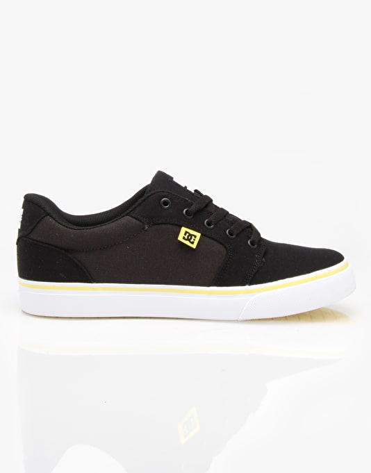 DC Anvil TX Skate Shoes - Black Gum