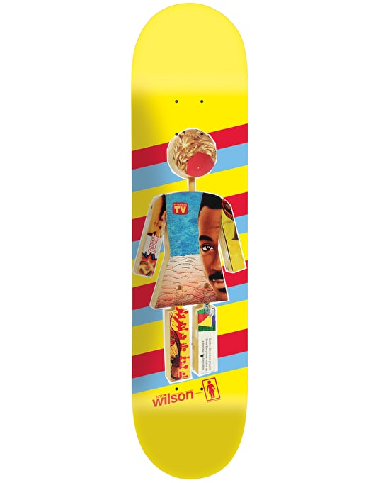 Girl Wilson One Off Pro Deck - 8""