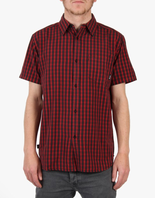 Fourstar Steiner S/S Shirt - Red