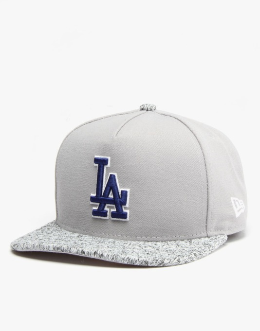 New Era MLB LA Dodgers Cold Capper Snapback Cap - Grey