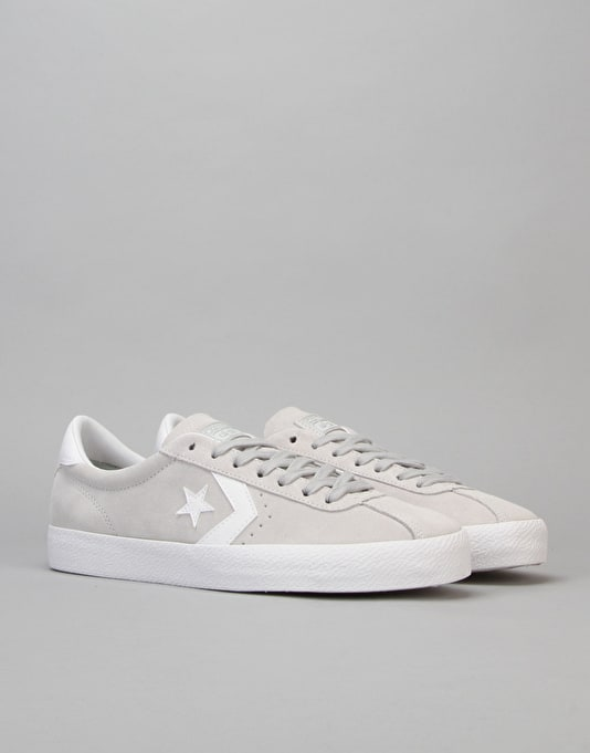 Converse Cons Breakpoint Suede Skate Shoes - Mouse/White/White