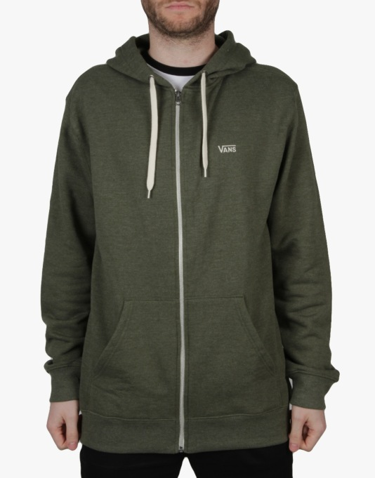 Vans Core Basics II Zip Hoodie - Anchorage Heather