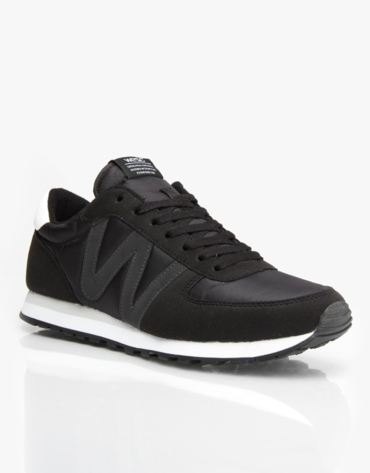 WESC Post Racer Low Shoes - Black