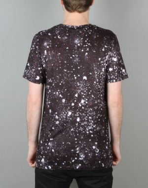 Hype Speckle T Shirt - Black