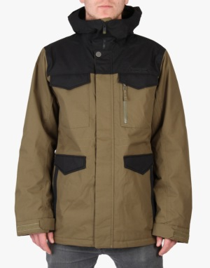 Burton Covert 2015 Snowboard Jacket - Hickory/True Black