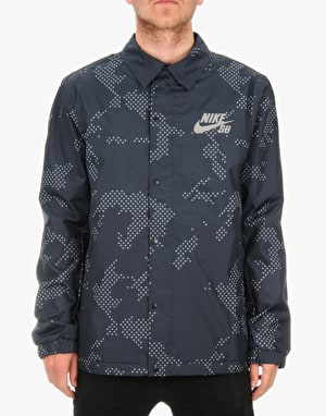 Nike SB Assistant Coach Jacket - Dark Obsidian/Anthracite/White