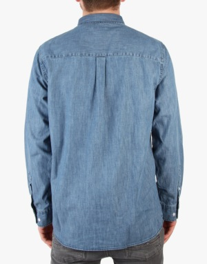 Wemoto Raylon Denim Shirt - Dark Navy