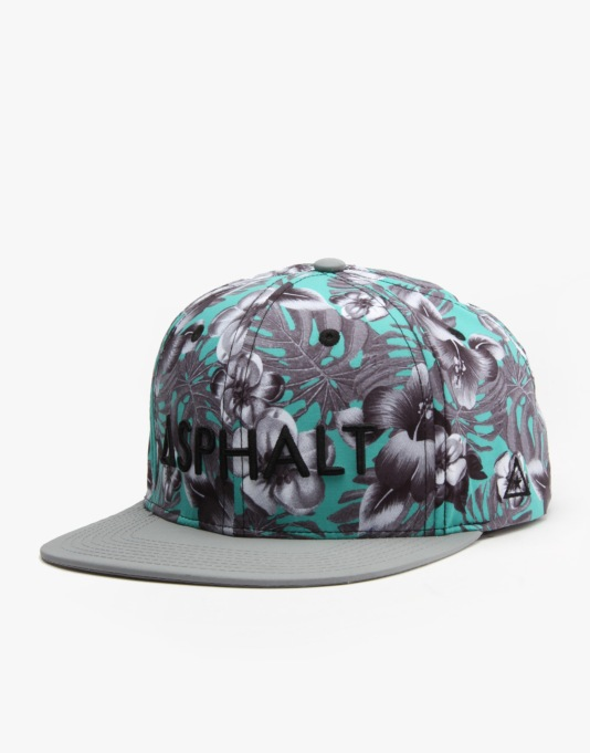 Asphalt Yacht Club Heatwave Snapback Cap - Sealife