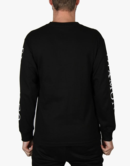 Diamond Hardware Stack L/S T-Shirt - Black