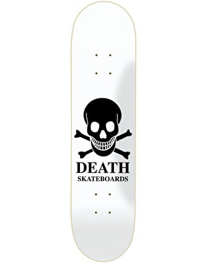 Death OG Skull Skateboard Deck - 8.5