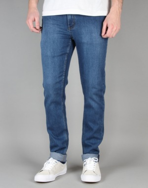 Cheap Monday Tight Skinny Jeans - Base Dark Blue