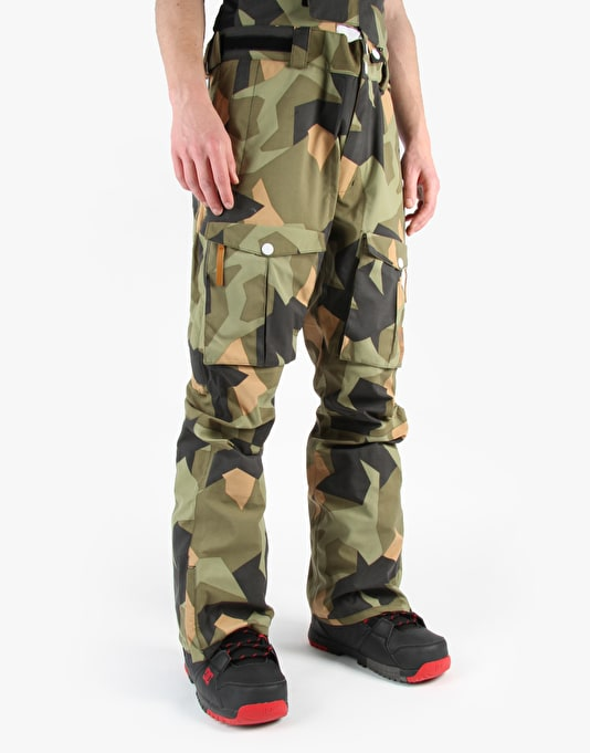 Colour Wear Falk 2015 Snowboard Pants - Asymmetric Olive
