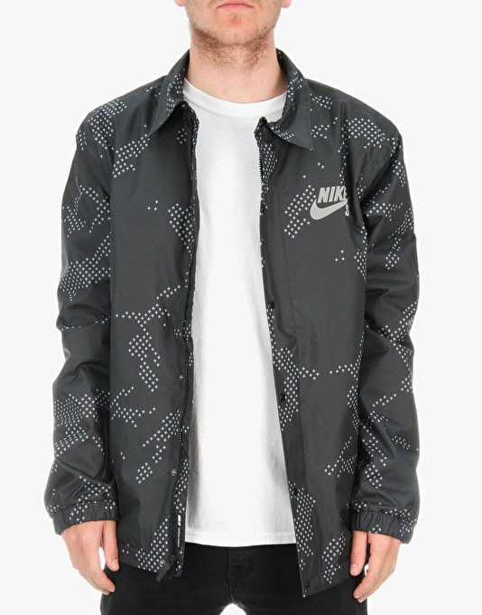 Nike SB Assistant Coach Jacket - Black/Anthracite/White