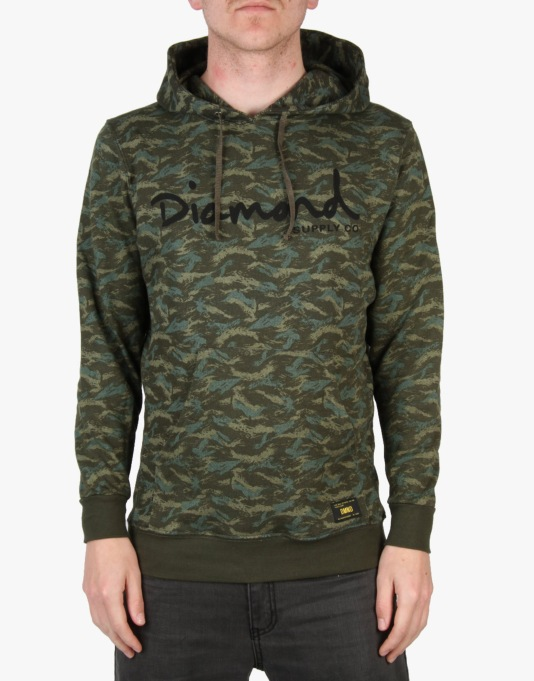 Diamond Supply Co. OG Script Hoodie - Camo