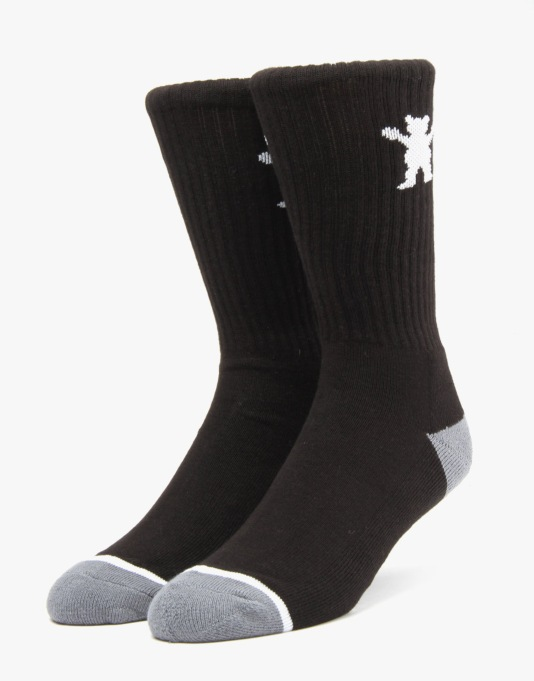 Grizzly High Sock - Black
