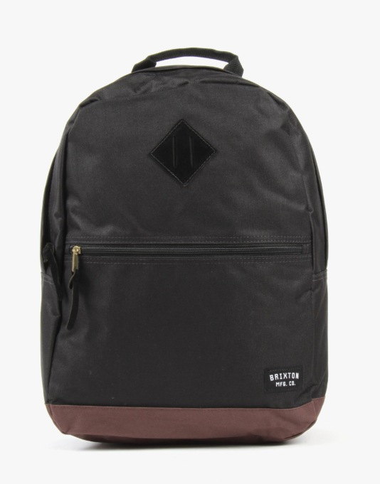 Brixton Carson Backpack - Black/Brown