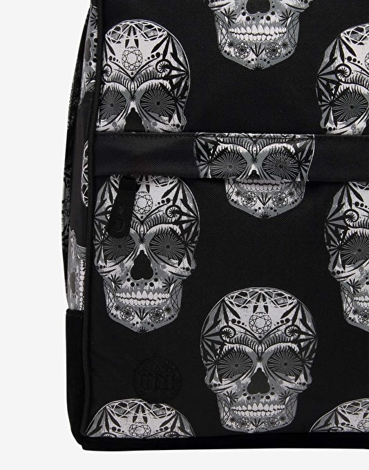 Mi-Pac Maxwell Skulls Backpack - Black