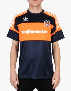 Adidas x The Hundreds Jersey T-Shirt - Collegiate Navy