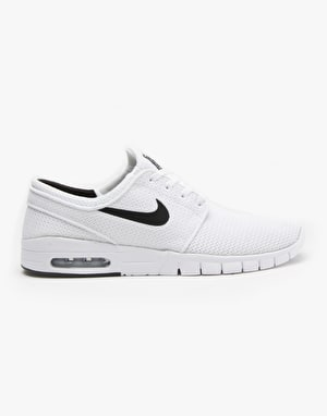 Nike SB Stefan Janoski Max Shoes - White/Black