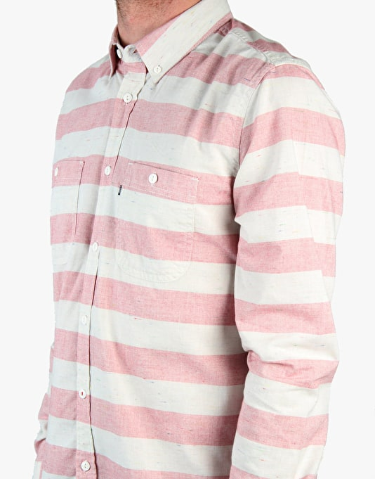 Element Geary L/S Shirt - Element Red