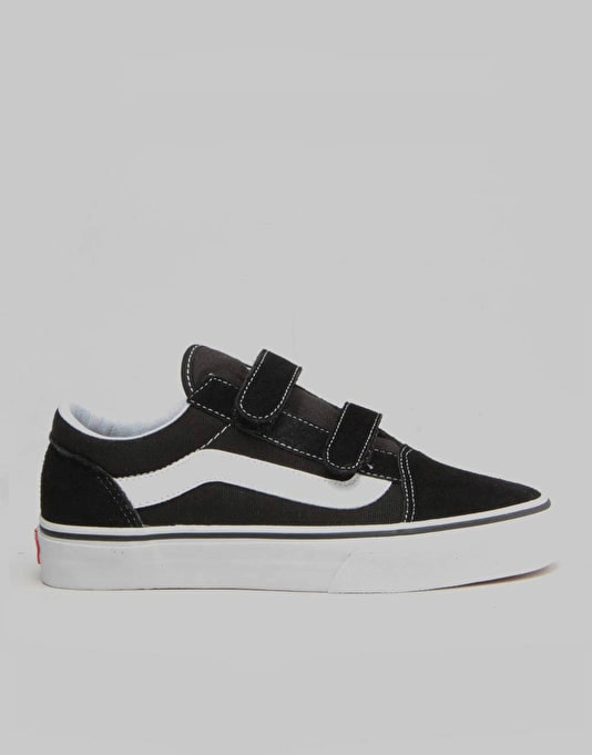 Vans Old Skool V Youth Skate Shoes - Black
