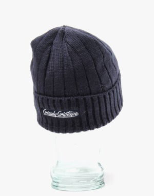 Grizzly Raised OG Bear Beanie - Navy