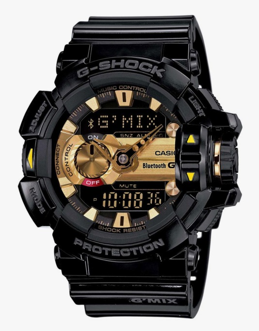 G-Shock GBA-400-1A9ER G-Mix Bluetooth Watch - Black