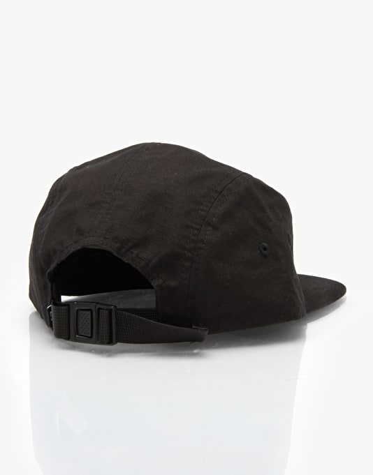 DC Encampment 5 Panel Cap - Black