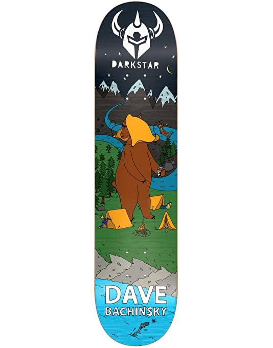 Darkstar Bachinsky Wildlife Skateboard Deck - 8""