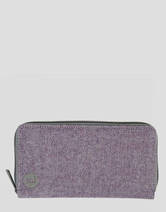 Mi-Pac Zip Purse - Herringbone Lilac