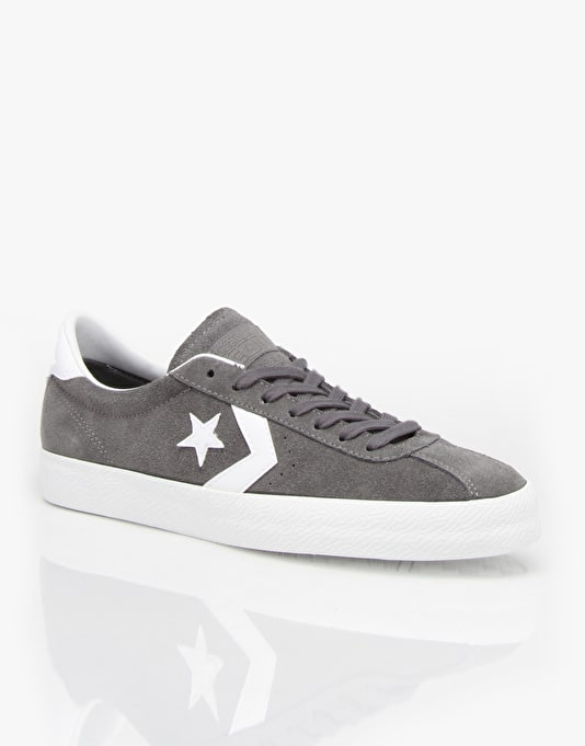 Converse Break Point Skate Shoes - Mason/White (Suede)