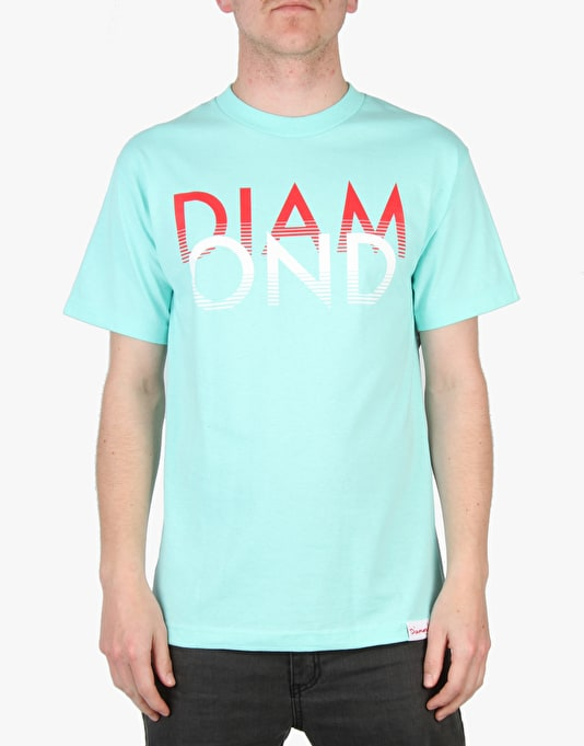 Diamond Supply Co. White Sands T-Shirt - Dark Blue