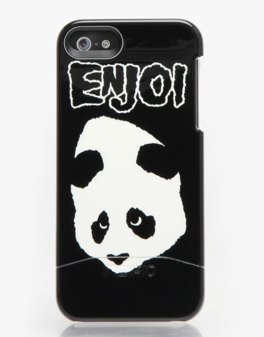 Enjoi Doesn't Fit iPhone 5 Case - Black/White