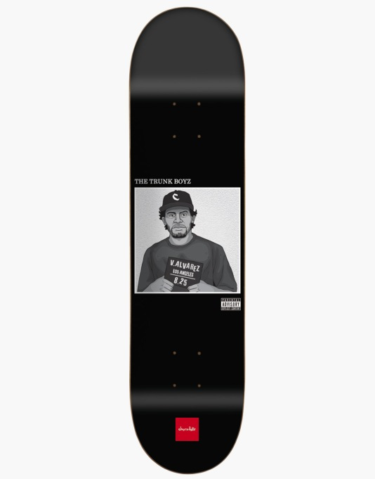 Chocolate Alvarez Ghetto Boyz Pro Deck - 8.25""