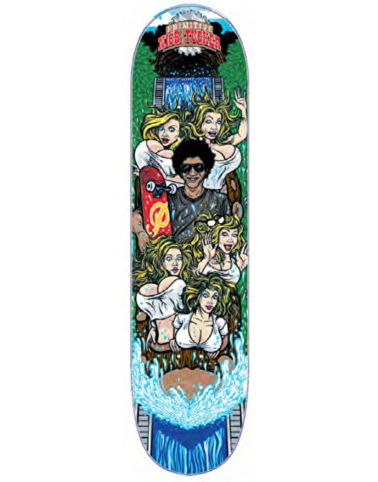 Primitive Skateboarding Tucker Log Jammer Pro Deck - 8.25""